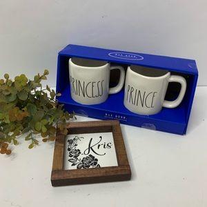 Rae Dunn Dining - Rae Dunn Prince Princess Mugs